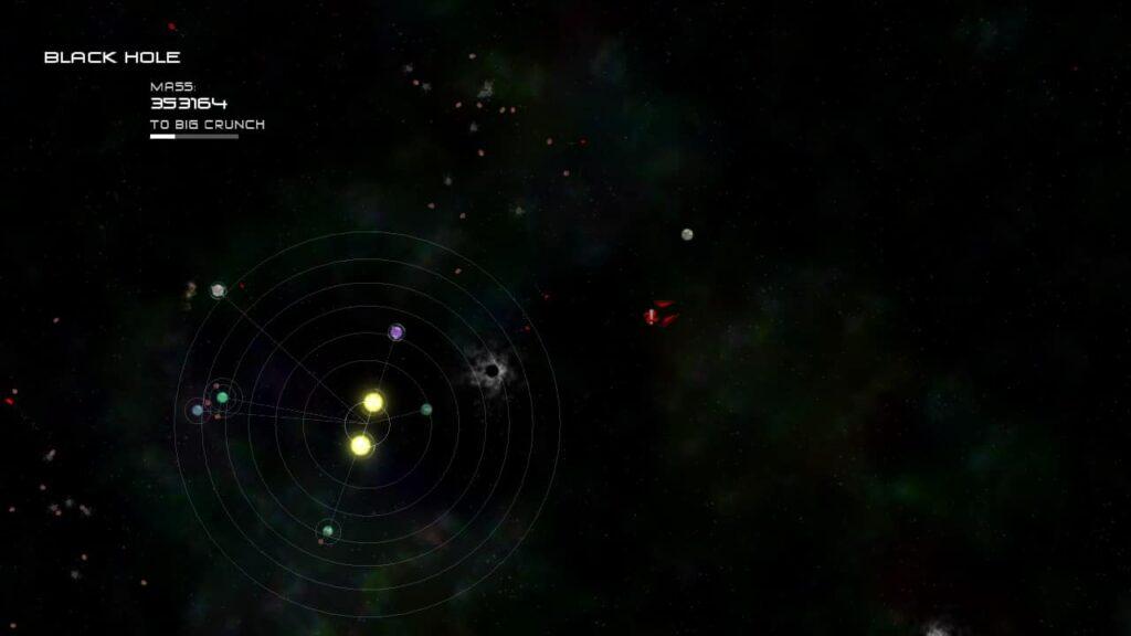 Solar 2 - Black Hole to Big Crunch Progression